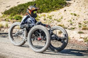 Adaptive 3 wheeled Fatbike
